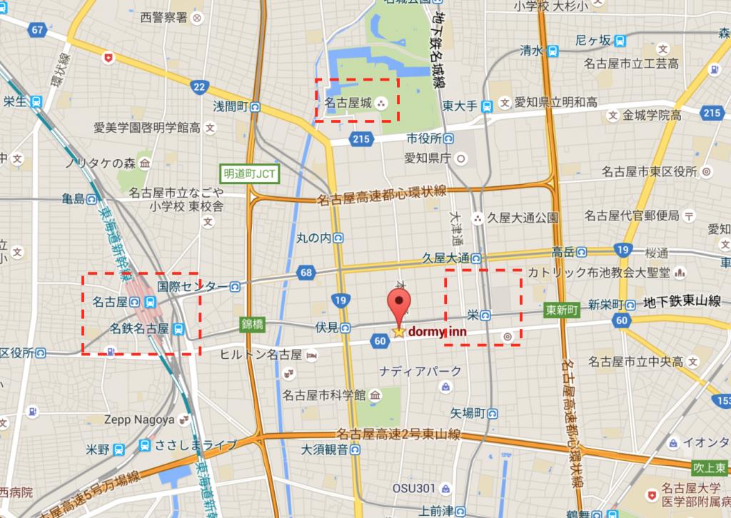 dormy map
