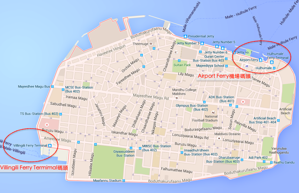 馬列地圖之一