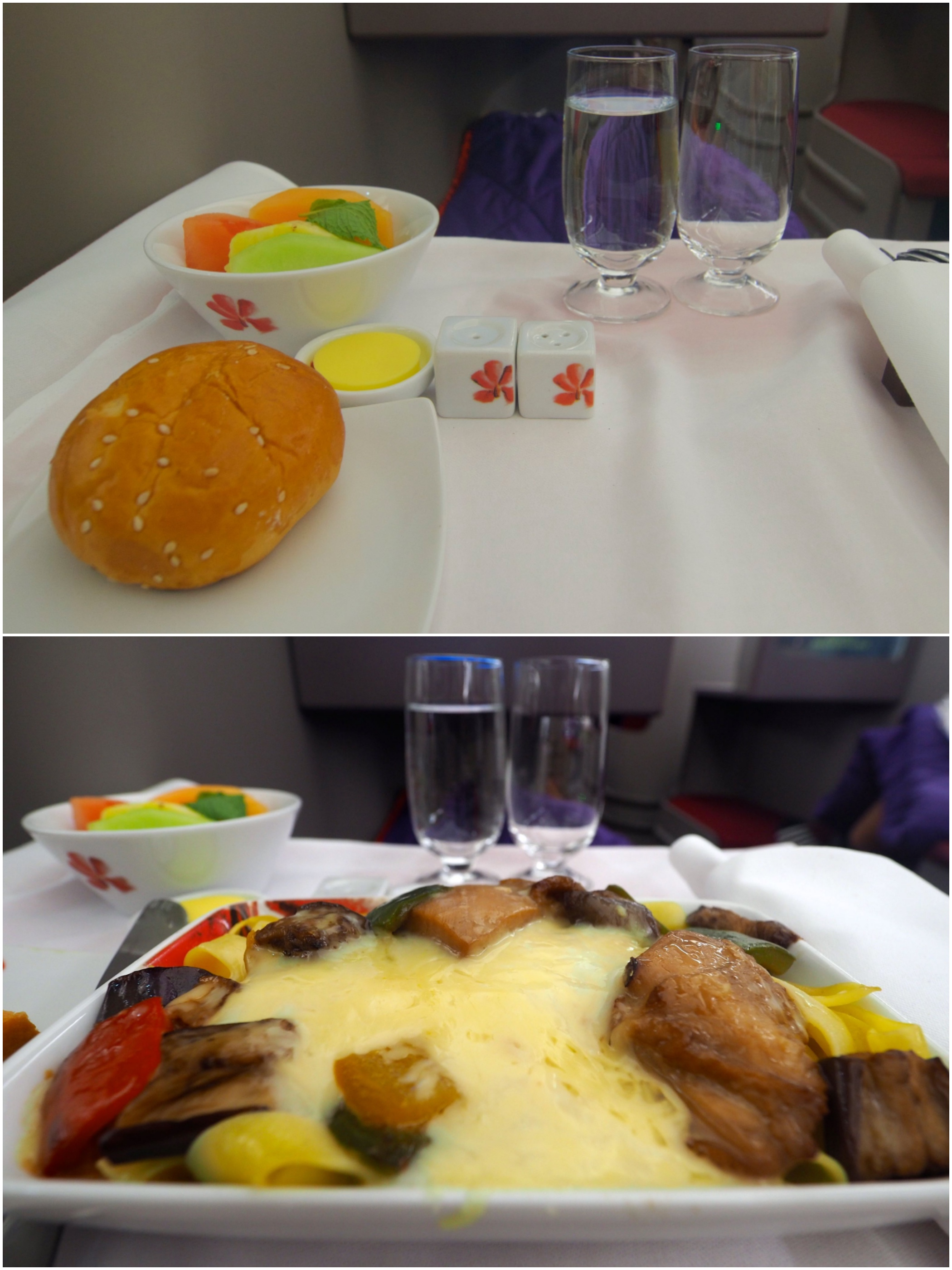 business-class-meal